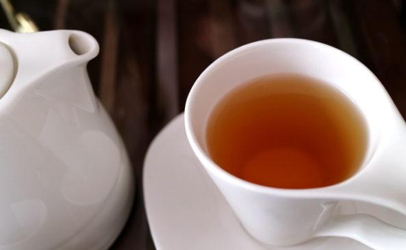 Зелёный чай в разгрузочный день