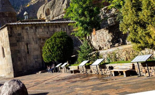 Монастыри в армении