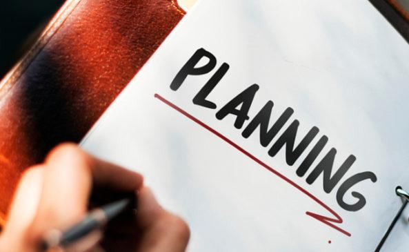 План на работе