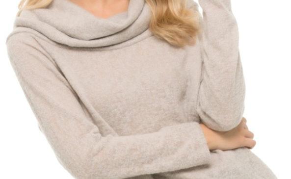Ботфорты и свитер