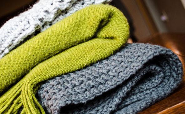 Вяжем шарфы