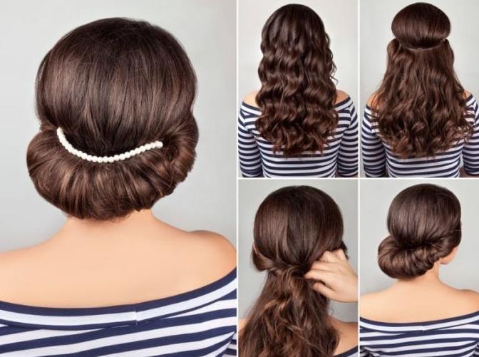Как сделать причёску в греческом стиле