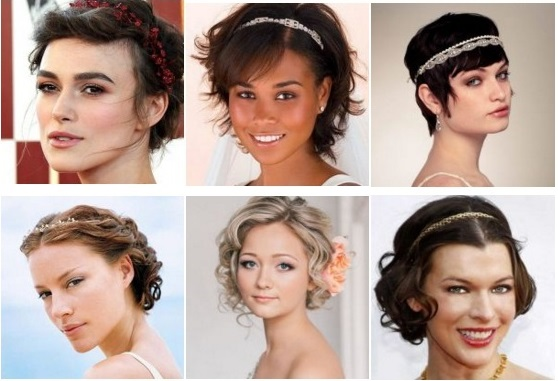 Прически в греческом стиле на короткие волосы