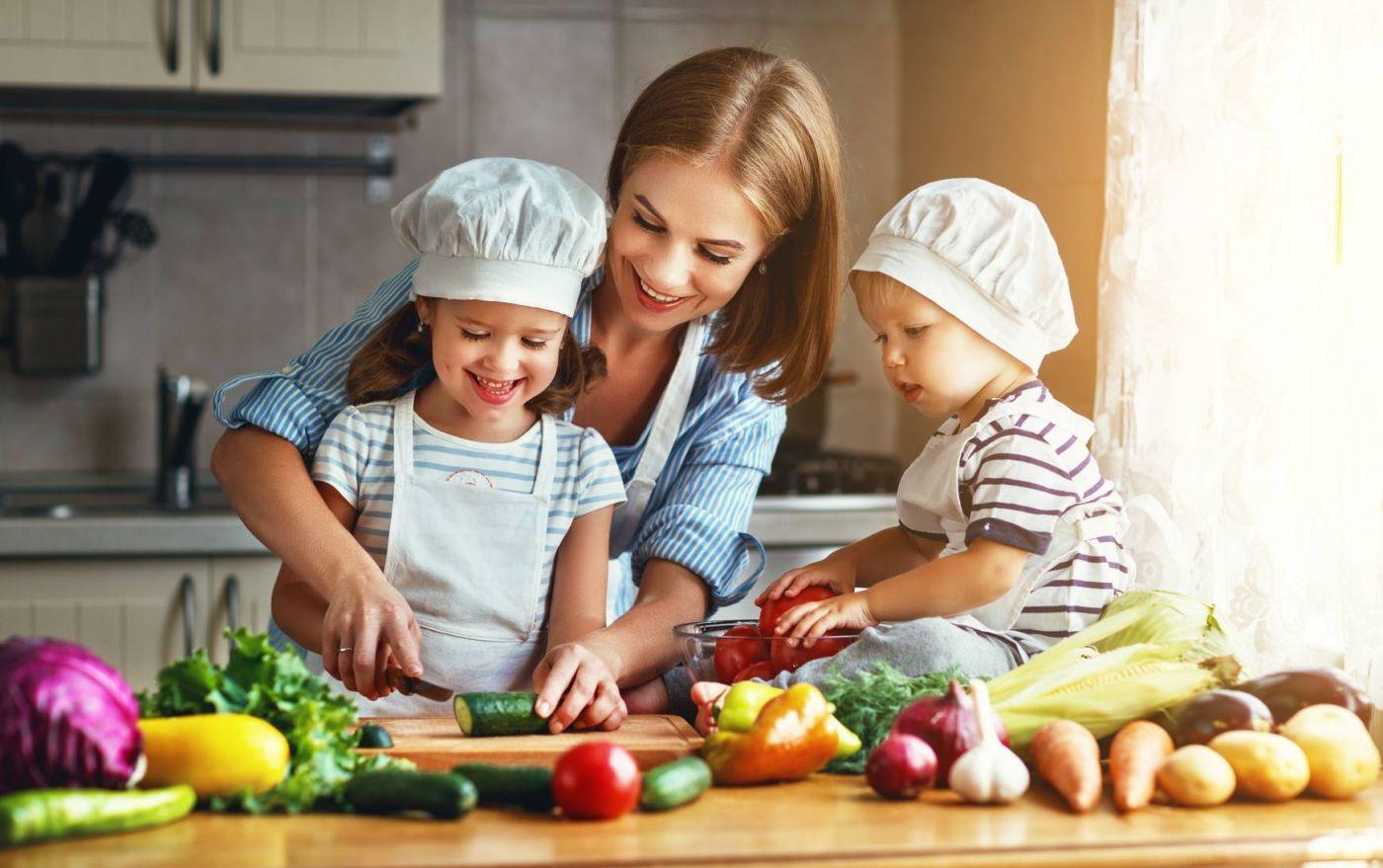 Овощные салаты для малышей