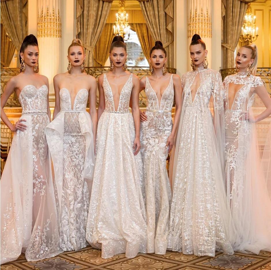 Модные свадебные платья и все тенденции свадебной моды 2021